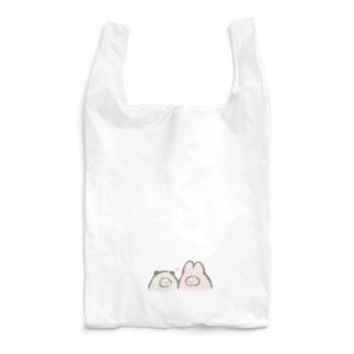 仲良しぱんだとうさぎ Reusable Bag