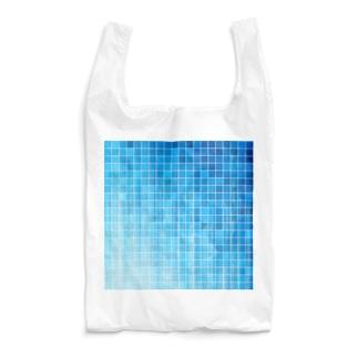レトロなタイル 04 Reusable Bag