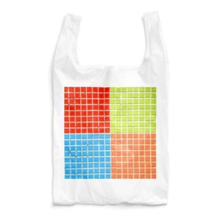 レトロなタイル 05 Reusable Bag