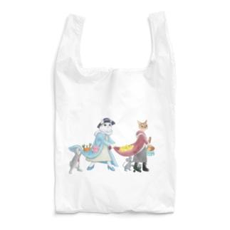 市場へお買い物 Reusable Bag