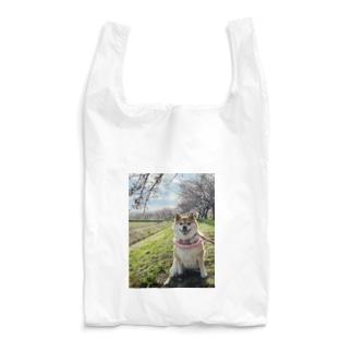 ハナちゃんと桜 Reusable Bag