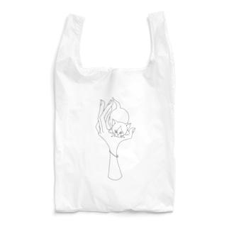 手乗り子猫 Reusable Bag