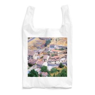 スペイン:セゴビア郊外の村の風景 Spain: view of a village near around Segovia Reusable Bag