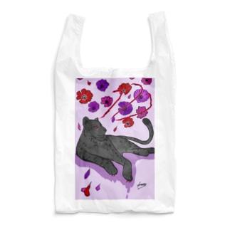 花に嵐 Reusable Bag
