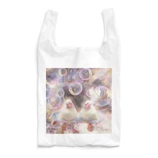 もちぶんスケボーのるより寛ぎ Reusable Bag