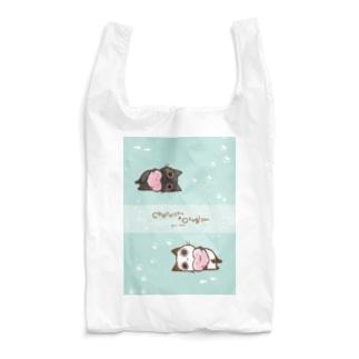 ぽてっとちょこさん&おはぎさん。 Reusable Bag