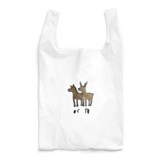 馬と鹿 Reusable Bag