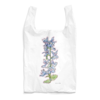 氷点の森の花(エゾエンゴサク) Reusable Bag