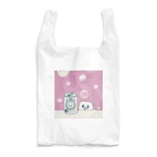 たぬきと生ビール Reusable Bag