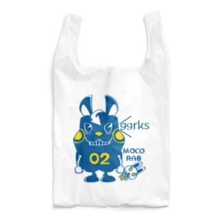 *suzuriDeMonyaa.tag*のCT124 モコモコラビット2号*ggrks Reusable Bag