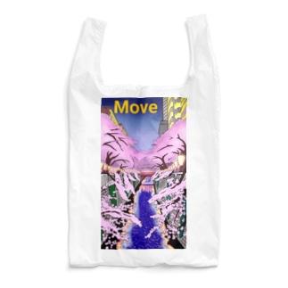 桜 Move  吉田デザイン Reusable Bag