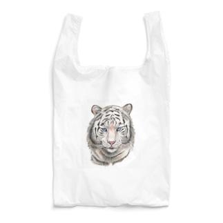 ホワイトタイガー Reusable Bag