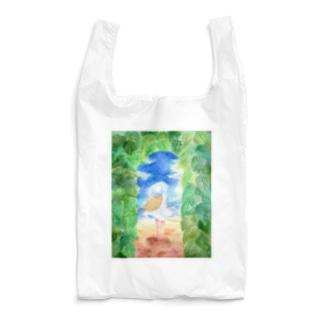 夏は続いている Reusable Bag