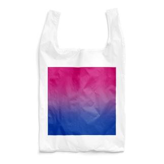 グラデーション プライドフラッグ バイセクシュアル Reusable Bag