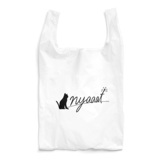 nyaaat公式ネコアイテム Reusable Bag