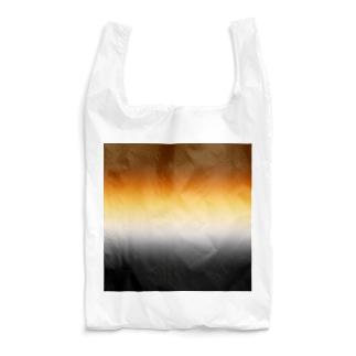 グラデーション プライドフラッグ ゲイ ベア Reusable Bag