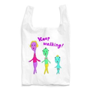 Keep walking! Reusable Bag