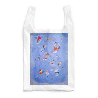 ワシリー・カンディンスキー 《空の青》 Reusable Bag