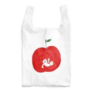 リンゴから猫 Reusable Bag