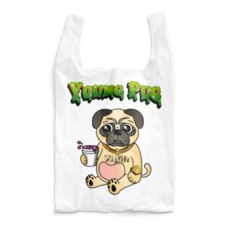 YOUNG PUG Reusable Bag