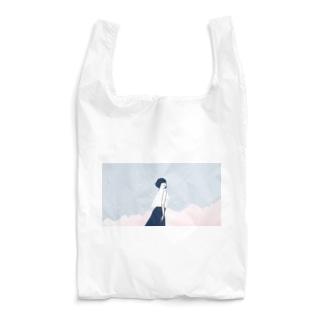 桜、空、ボブ Reusable Bag