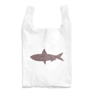 真イワシ シルエット Reusable Bag