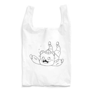 スカイダイビングするクマ Reusable Bag