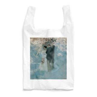 ハワード・パイル 《春・桜の木の下で》 Reusable Bag