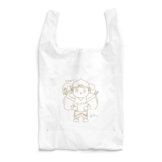 長与 千種 Chigusa Nagayoのウデアシ桃 Reusable Bag