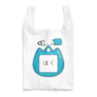 CT129 幼稚園バッチ・名札D*ぼく Reusable Bag