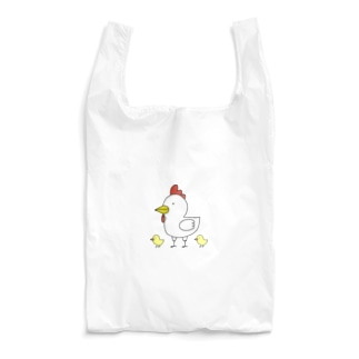 ニワトリふぁみりー。 Reusable Bag