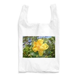 聖地に咲くハイビスカス(黄) Reusable Bag