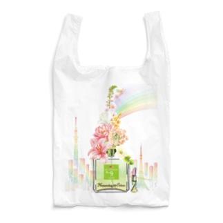 アンドアイデザイン 数秘&カラー🄬オマージュボトルNo9&OLIVE Reusable Bag