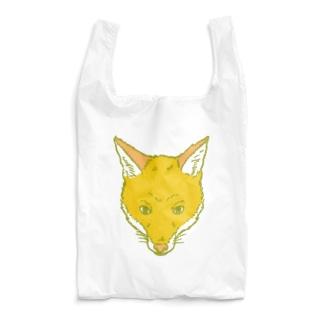 キツネのかお Reusable Bag