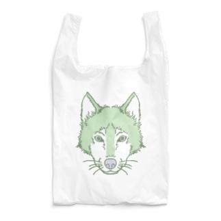 オオカミのかお Reusable Bag