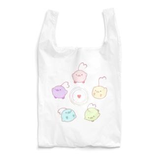 はーとり(パステルカラー) Reusable Bag