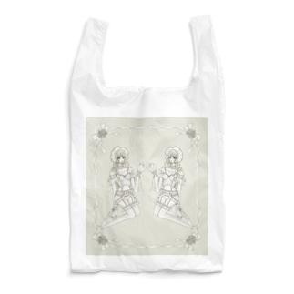 ランジェリー少女 Reusable Bag