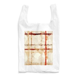ポリゴンチェック Reusable Bag