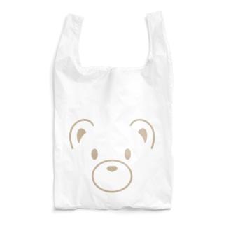 おにぎり・くまどん アイリスフェイス柄 Reusable Bag