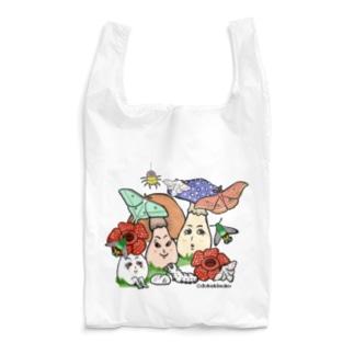蛾と毒キノコ3 Reusable Bag