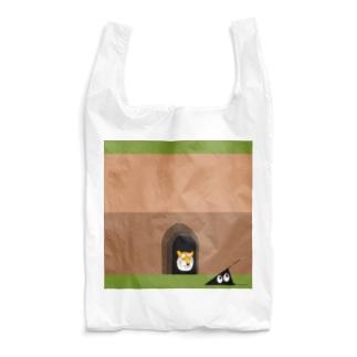 虎穴に入るスリスリ君 Reusable Bag