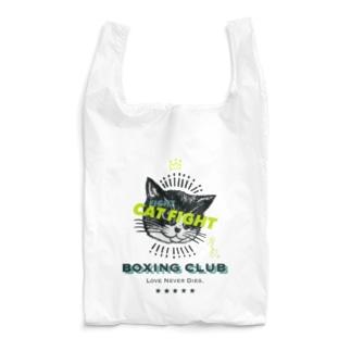 CAT FIGHT Reusable Bag