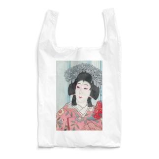 川瀬巴水《中村芝翫 雪姫》  Reusable Bag