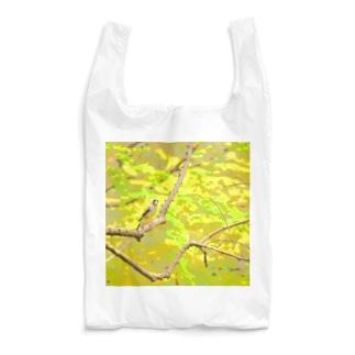 春の林  ~イカル~ Reusable Bag