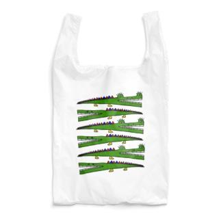 ワニわに鰐ワニわに庭 Reusable Bag
