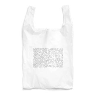 うさぎだらけパート2(顔) Reusable Bag