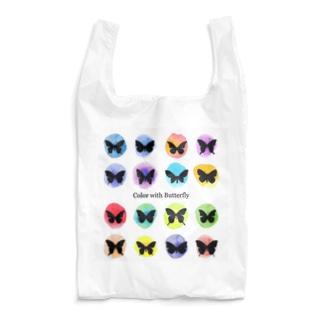 水彩×蝶 Reusable Bag