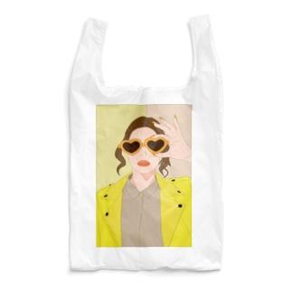 イエロー Reusable Bag