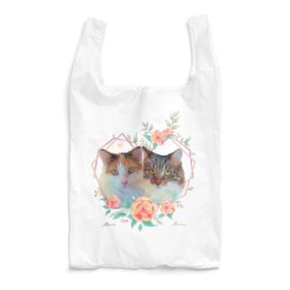 猫カフェラグドールみらめるflower Reusable Bag