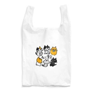 ねこ集会 Reusable Bag